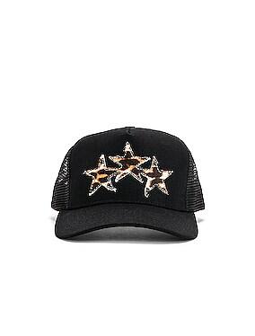 Three Star Trucker Hat