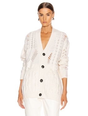 Multipoint Short Cardigan