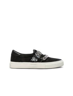 Bandana Suede Slip On Sneaker