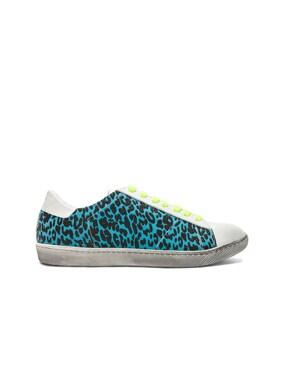 Viper Neon Leopard Low Sneaker
