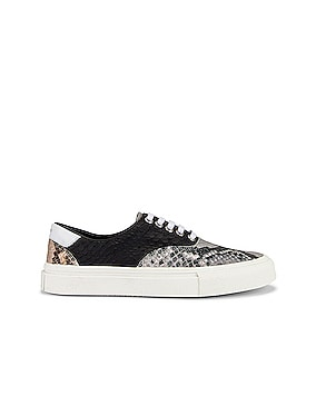 Python Lace Up Sneaker