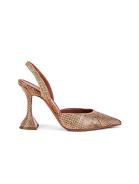 Holli Watersnake Slingback