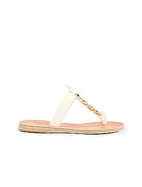 Iris Gold Shells Sandals