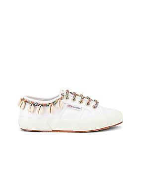 x SUPERGA Low Top Cowrie Shells Sneaker