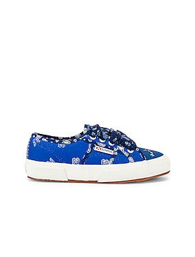 x SUPERGA Low Top Bandana Sneaker