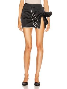 Sculpted Bow Skirt