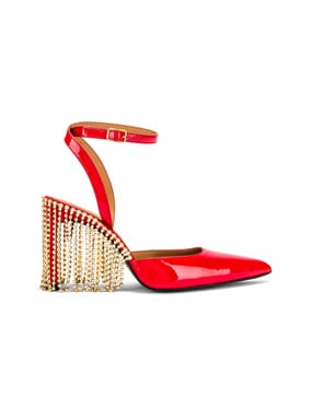 Crystal Fringe High Heel