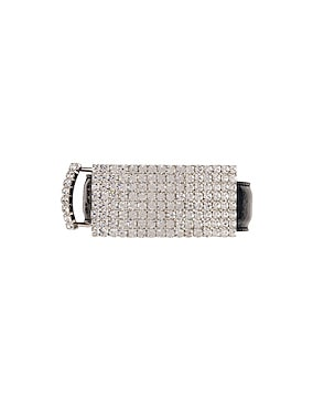 Leather & Crystal Belt