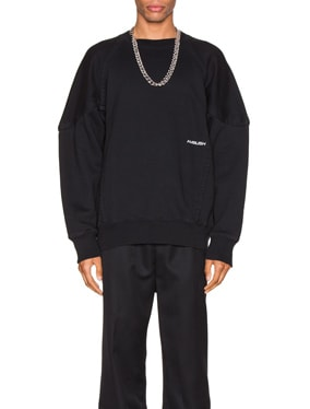 Wide Piping Sweatshirt