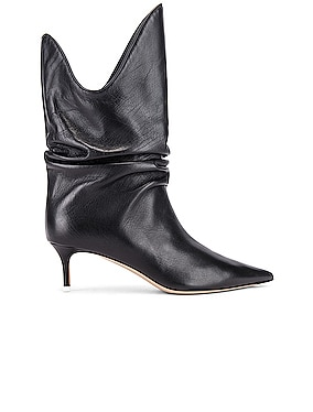 Kitten Heel Medium Boot