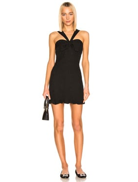 Bow Detail Mini Dress