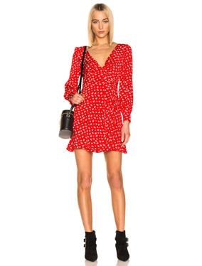 Double Tie Wrap Dress