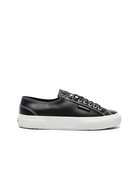 x Superga Low Top Leather Sneaker