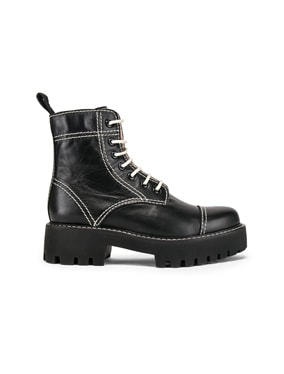 Chopped Military Boot