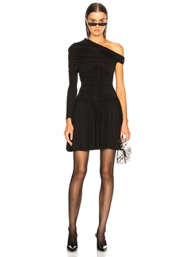 Rouched Mini Dress