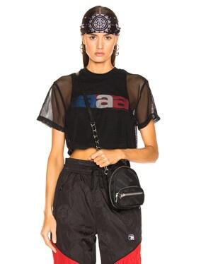 AAA Logo Mesh T-Shirt