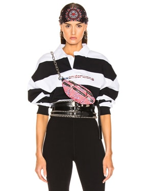 Rugby Stripe Cropped Shirt