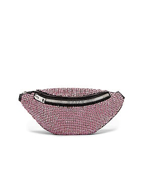 Attica Soft Mini Rhinestone Fanny Crossbody Bag