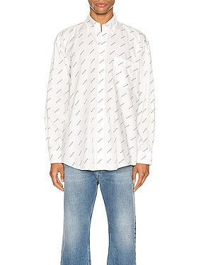 Normal Fit Long Sleeve Shirt