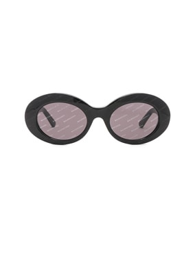 Oval Logomania Sunglasses