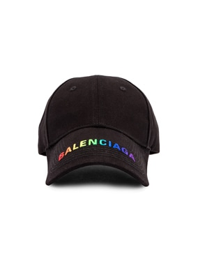 Adjustable Rainbow Baseball Hat