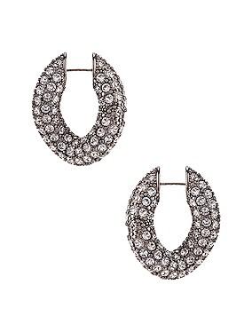 Strass Loop Earrings
