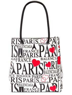 XXS Paris Bonjour Shopping Tote Bag