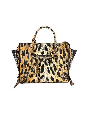 Mini Leopard A4 Bag