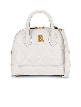XXS Quilted Leather Ville Top Handle Bag