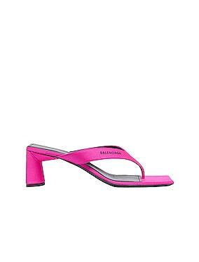 Logo Double Square Sandals