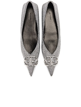BB Square Knife Ballerina Flats
