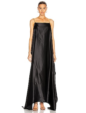 Meredith Silk Satin Dress