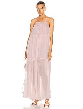 Sleeveless Tier Maxi Dress