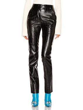 Crocodile Print Skinny Trouser