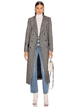 Lady Anne Black Great Coat