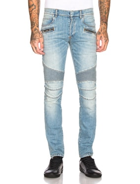 Skinny Biker Jeans
