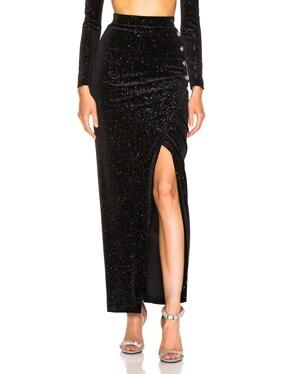 Star Speckled Midi Skirt