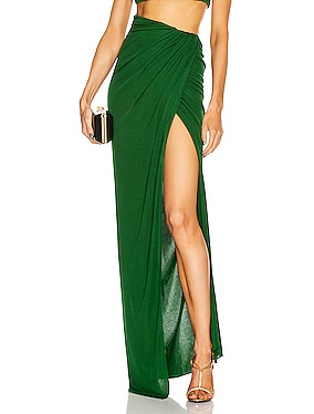 Floor Length Wrap Skirt