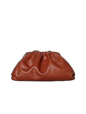 Leather Pouch Clutch