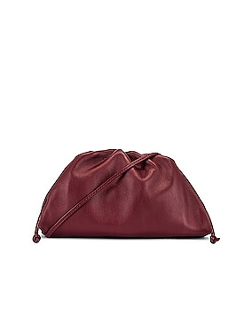 Mini Leather Pouch Clutch Crossbody Bag