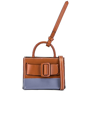 Two-Tone Bobby Charm with Strap
