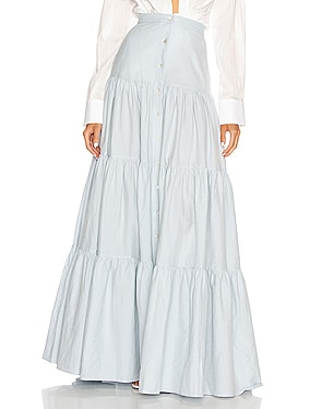 Quanika Button Down Maxi Skirt