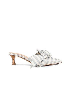 Tess Stripes Bow Heels
