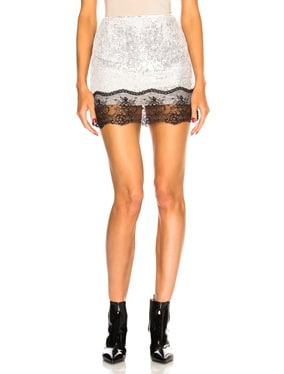 Cendre Sequin Skirt