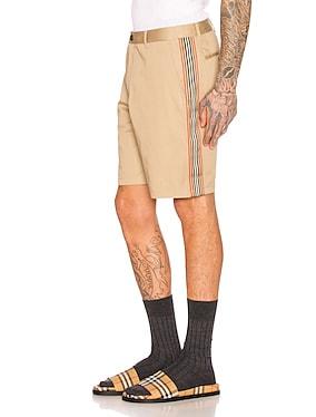 Icon Stripe Chino Shorts
