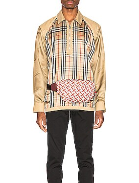 Runway Check Raglan Shirt