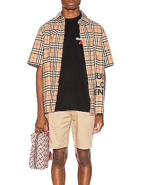 Sandor Printed Vintage Check Shirt