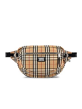 Vintage Check Bonded Bum Bag