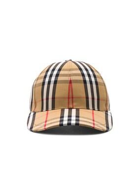Vintage Check Baseball Cap