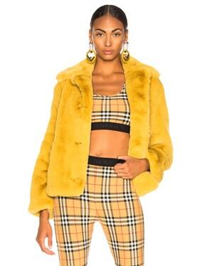 Alnswick Faux Fur Jacket